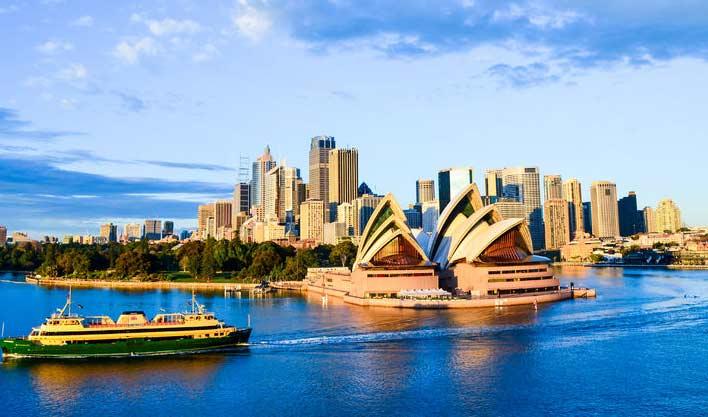ทัวร์ออสเตรเลีย ล่องเรือชมอ่าวซิดนีย์ บลูเม้าท์เท่นส์ พอร์ต สตีเฟ่น 5วัน 3คืนบิน Thai Airways