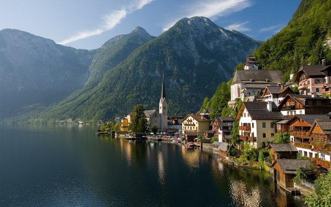 ทัวร์ออสเตรีย เวียนนา ฮอลสตัท เยอรมัน เชสกี้ครุมลอฟ เชค 8วัน 5คืน บิน Austrian Airlines