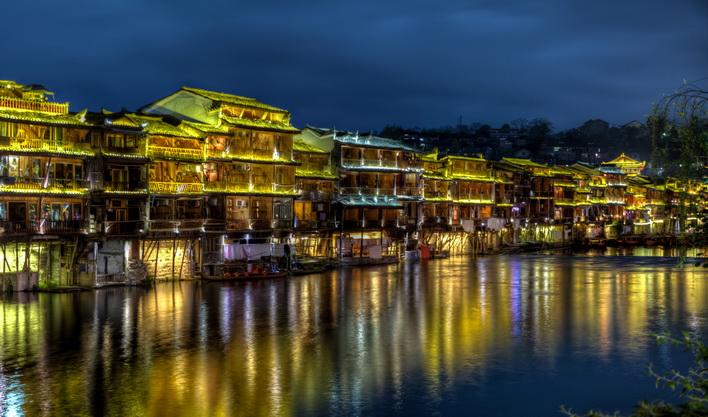 ทัวร์จีน เมืองโบราณเฟิ่งหวง แม่น้ำถูเจียง เมืองฉางซา 5วัน 4คืน บิน Thai Smile Airways