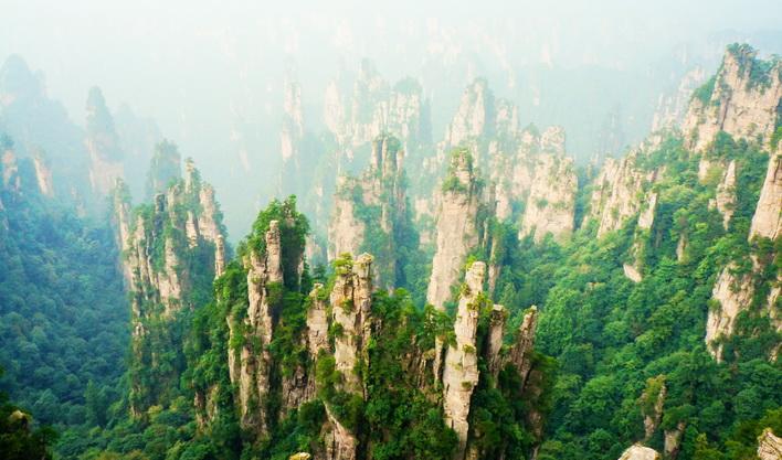 ทัวร์จีน ชมอุทยานจางเจียเจี้ย ภูเขาฮัลเลลูย่าห์ เทียนเหมินซาน ฉางเต๋อ 6วัน 5คืน บิน Air Asia