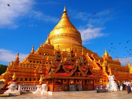 ทัวร์พม่า มัณฑะเลย์ วัดอานันดา เจดีย์ชเวสิกอง 4วัน3คืน บิน Myanmar Airways