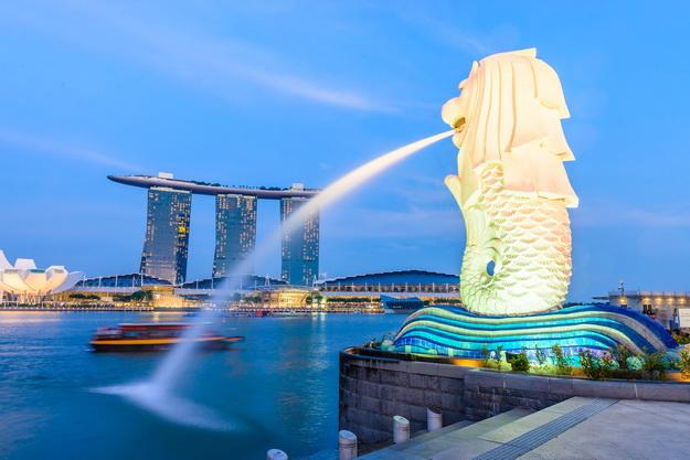 ทัวร์สิงคโปร์ ถ่ายรูป MERLION ยูนิเวอร์แซล มารีน่า เบย์ แซนด์ส 3วัน 2คืน บิน Jetstar Airways